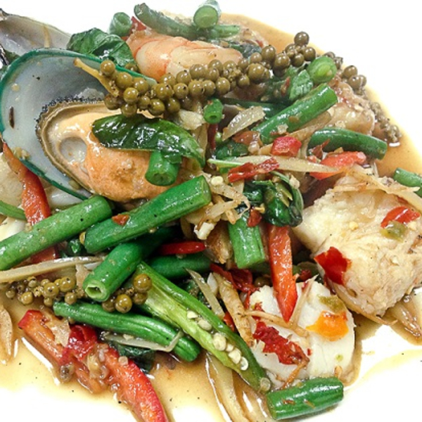 Sizzling Seafood Image