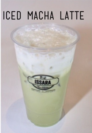 Iced Macha Latte Image