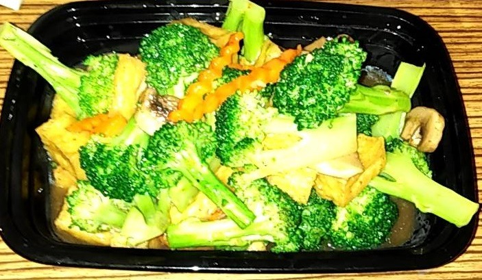 Saute Broccoli in Oyster Sauce (Lunch) Image