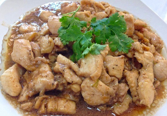 Wok Stir-Fried with Garlic Sauce (Lunch) Image
