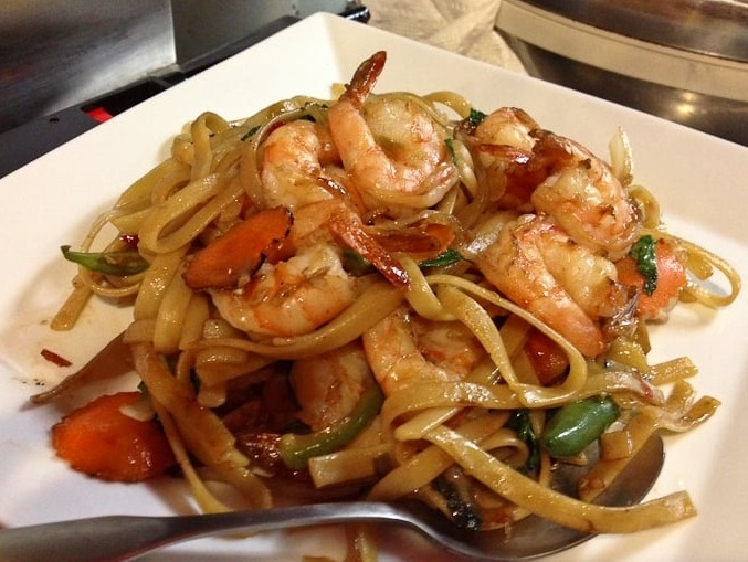 Drunken Noodles (Dinner) Image