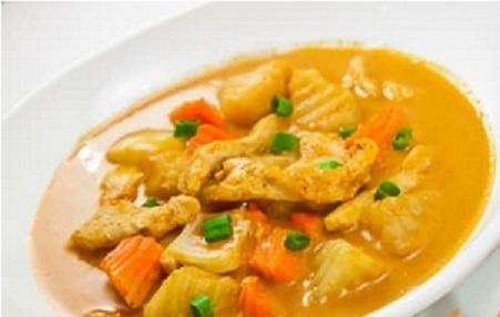 Yellow Curry (Dinner) Image