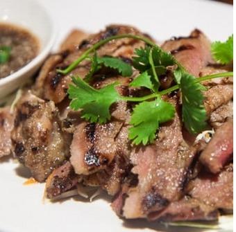 Grilled Pork (Dinner)