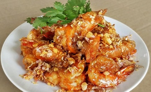 Garlic Shrimp (Dinner) Image
