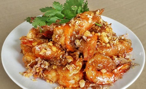 Garlic Shrimp (Lunch) Image