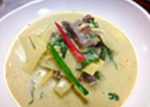 Green Curry (Dinner) Image