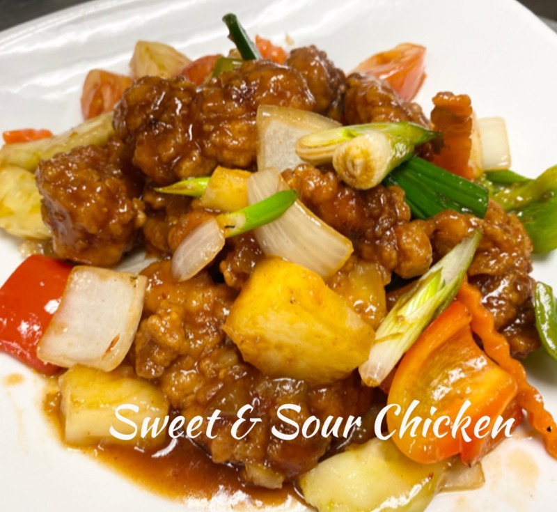 (C6) Sweet and Sour Chicken Image