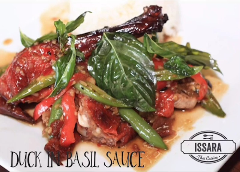 (C3)  Stir-Fried Roasted Duck with Basil Sauce Image
