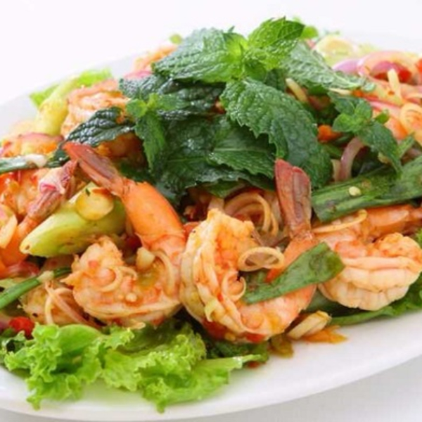 Shrimp and Herb Salad