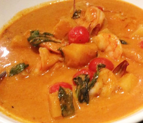Pineapple Shrimp Curry Image