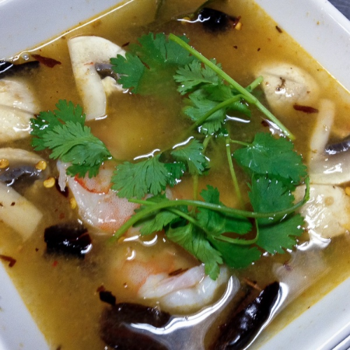 Tom Yum Soup (Cup) Image