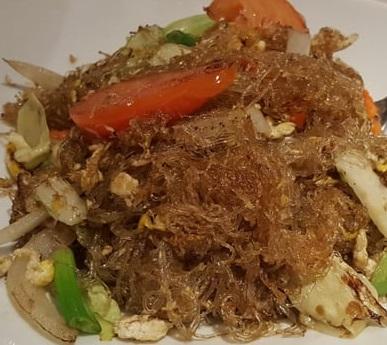 Silver Noodle Stir-Fried (Pad Won Sen)