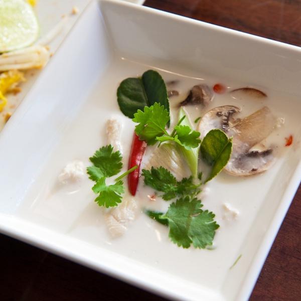 Tom Kha Soup (Cup) Image
