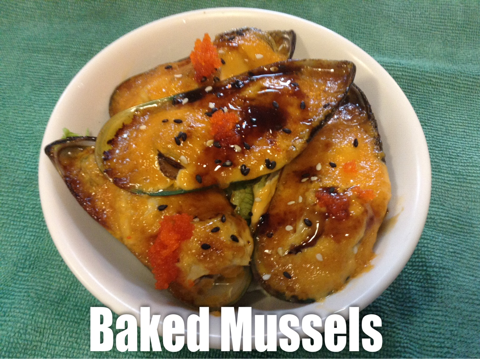 Baked Mussels (4) Image