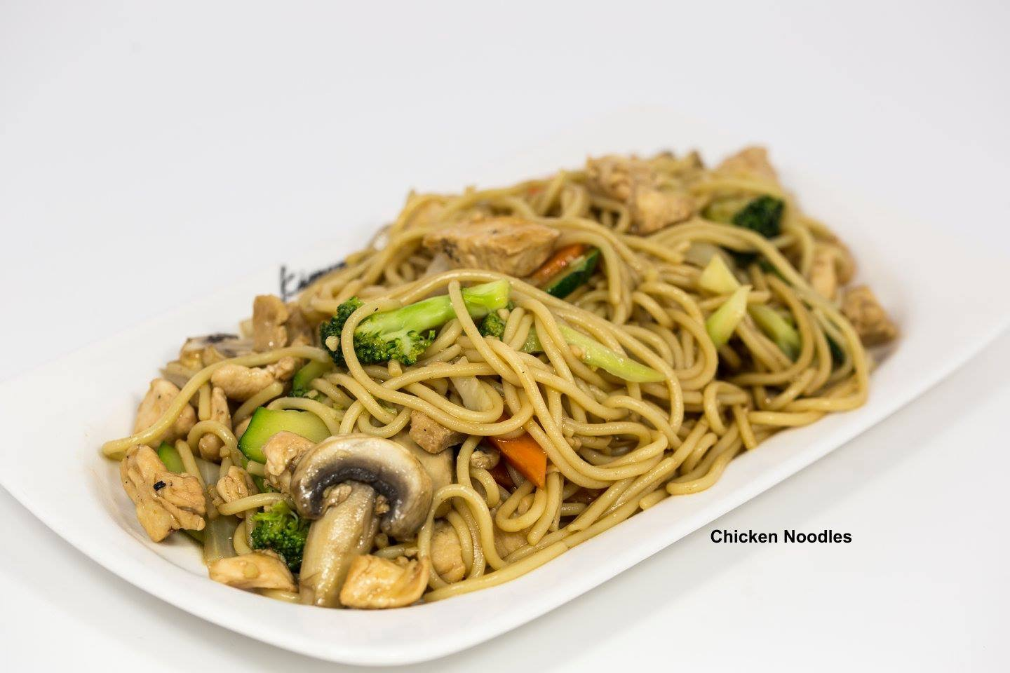 Chicken Fried Noodle Image