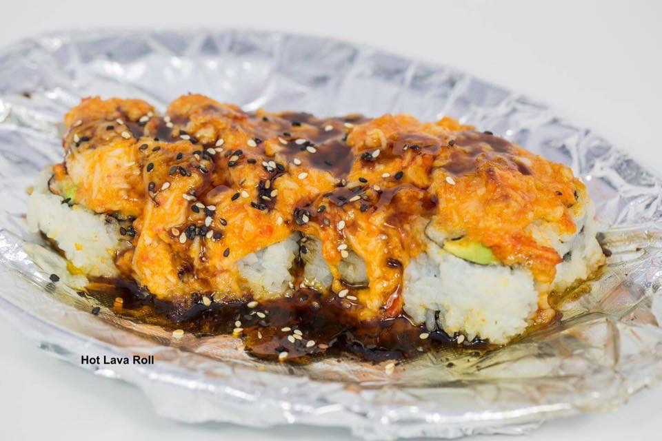 Hot Lava Roll Image