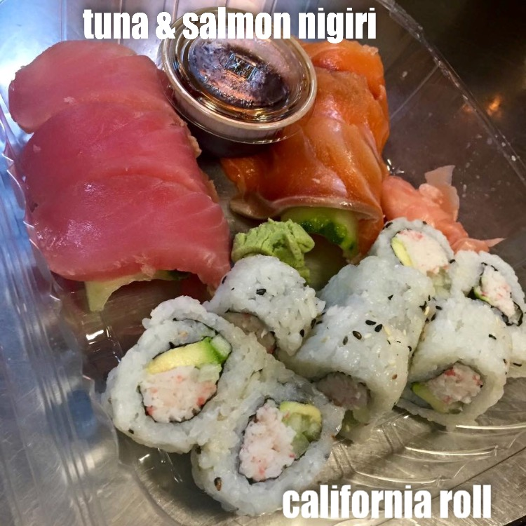 California Roll Nigiri Combination