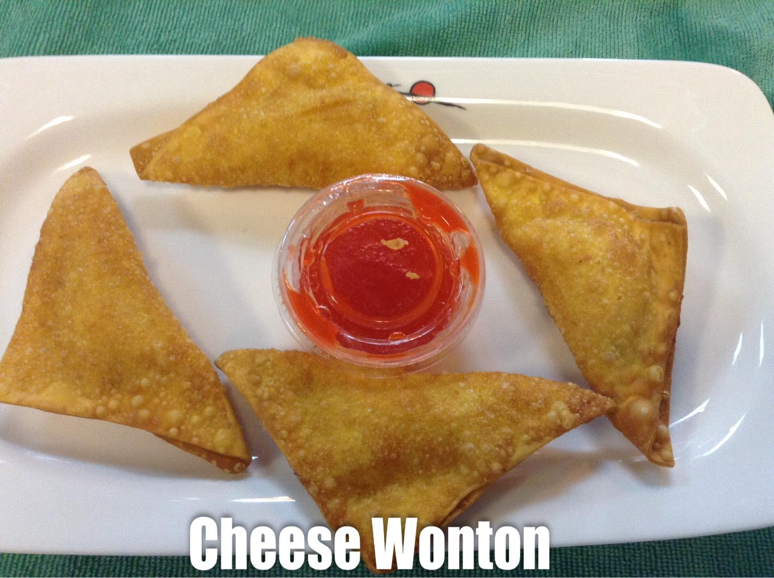 Cheese Wonton (4)
