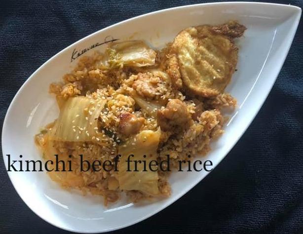 Kimchi Beef Fried Rice Image