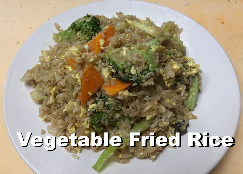 Vegetable Fried Rice Image