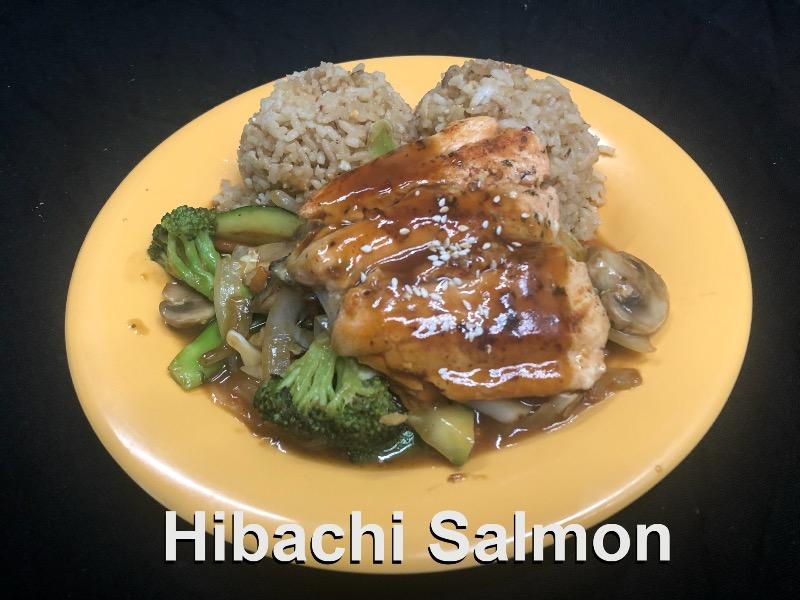 Hibachi Salmon Image