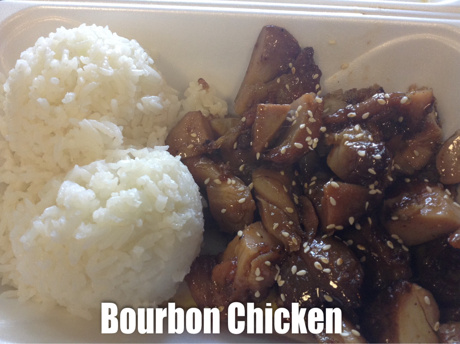Bourbon Chicken Image