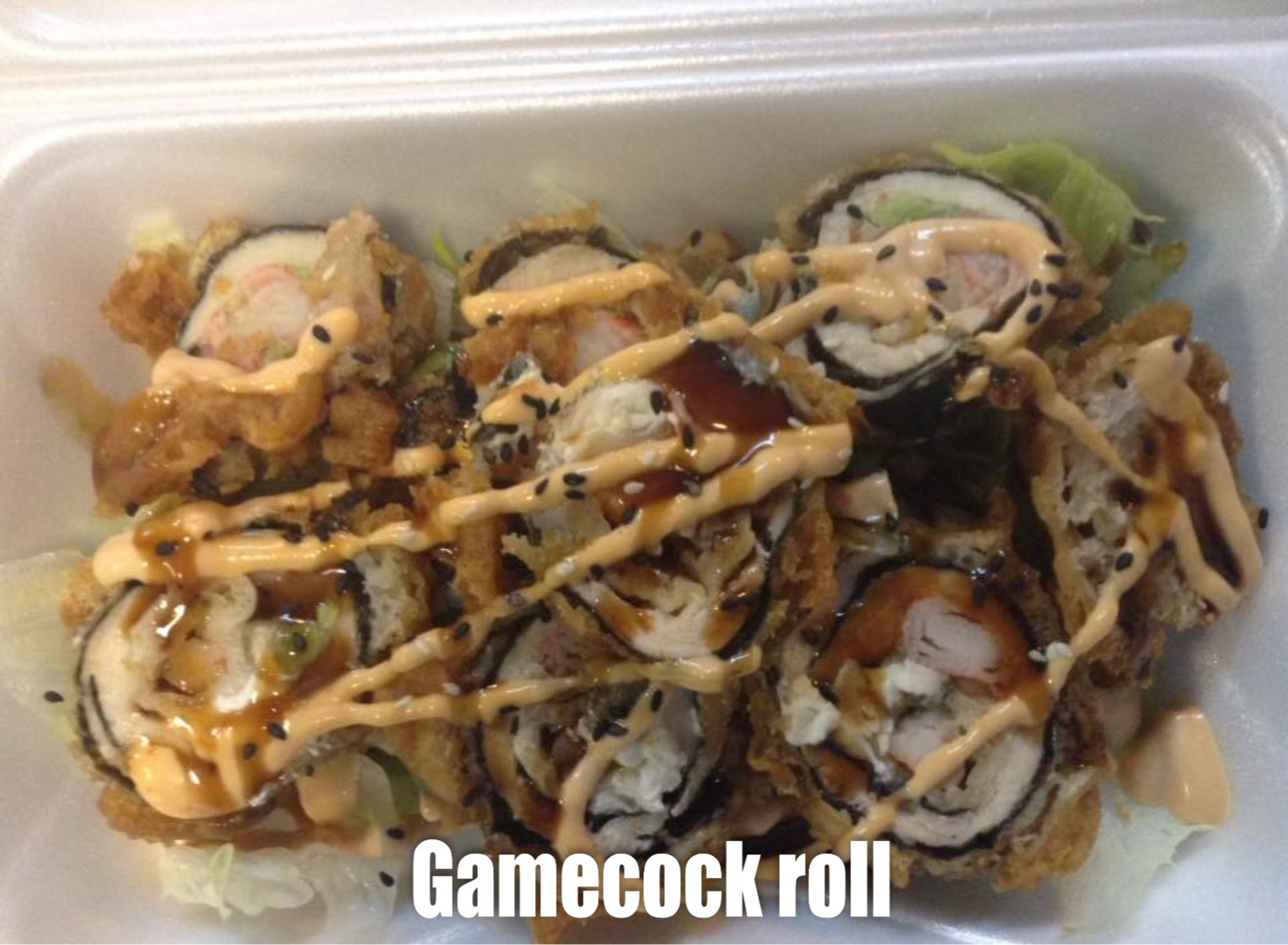 Gamecock Roll Image