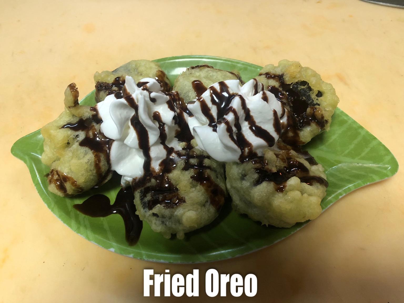 Fried Oreo Image