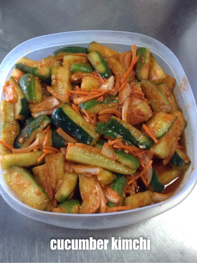 Cucumber Kimchi (Seasonal) Image