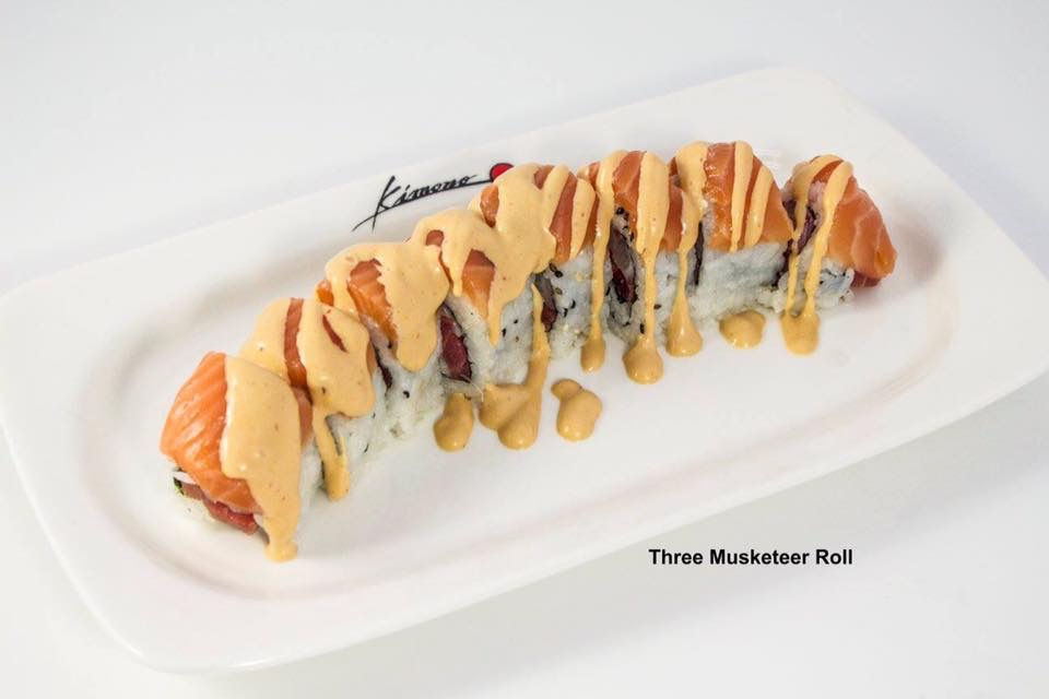 Three Musketeer Roll