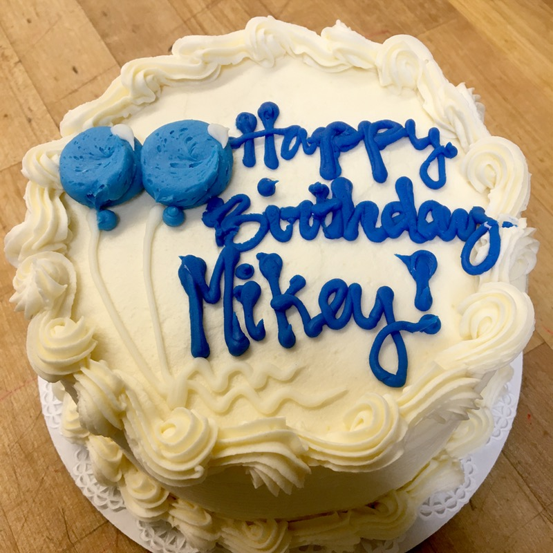 "6"" Cake Image"
