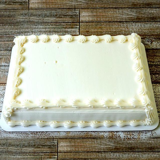 1/4 Sheet Cake Image
