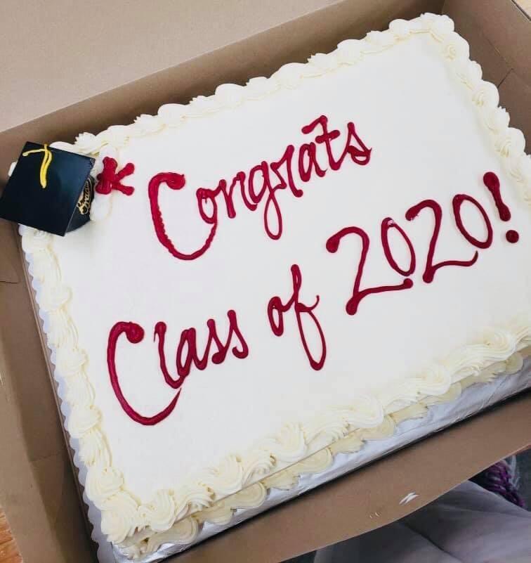 Graduation Cake Image