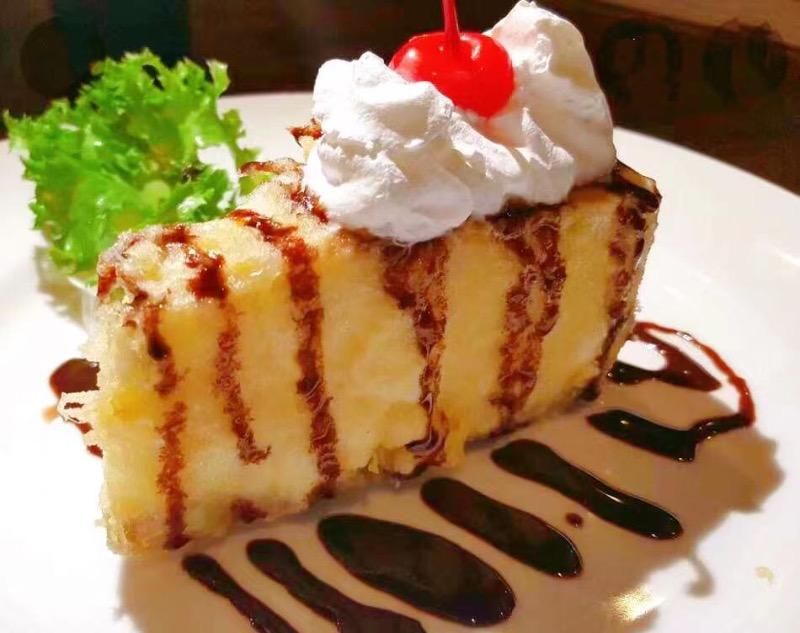 Cheesecake Tempura Image