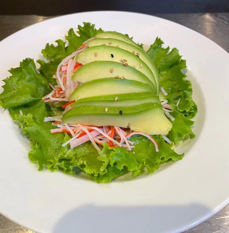 6. Mango Kani Avocado Salad