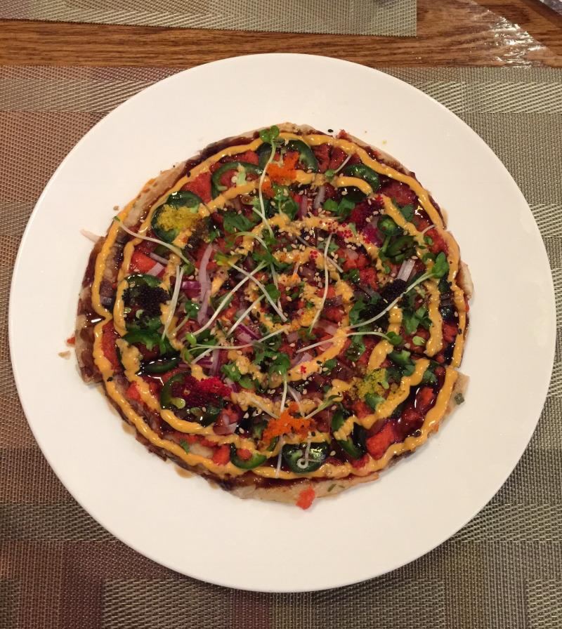 12. Sushi Pizza Image