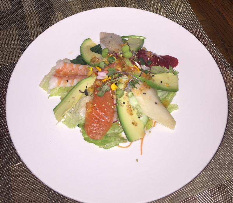 9. Ocean Avocado Salad