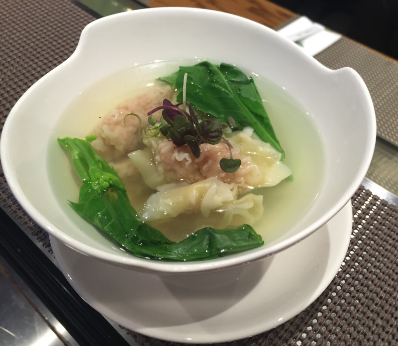 3. Classic Shrimp & Pork Wonton Soup Image