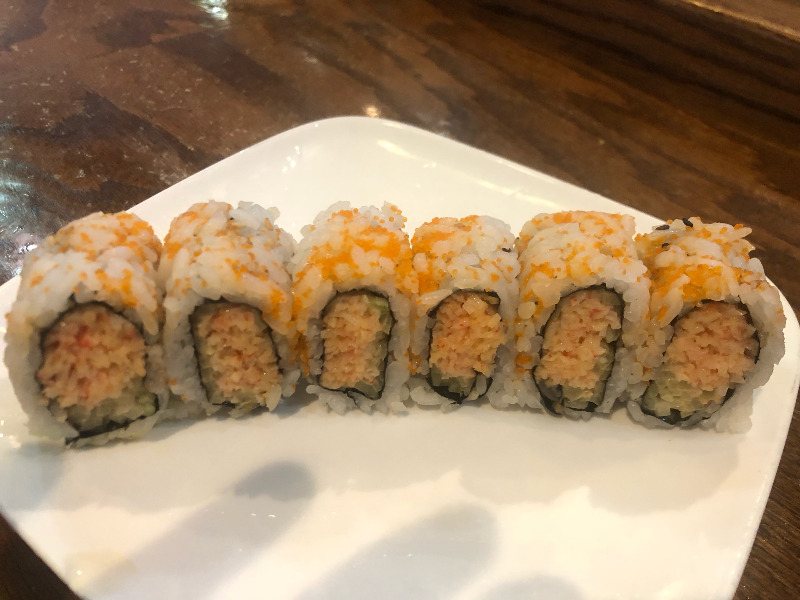 13. Spicy Snow Crab Roll