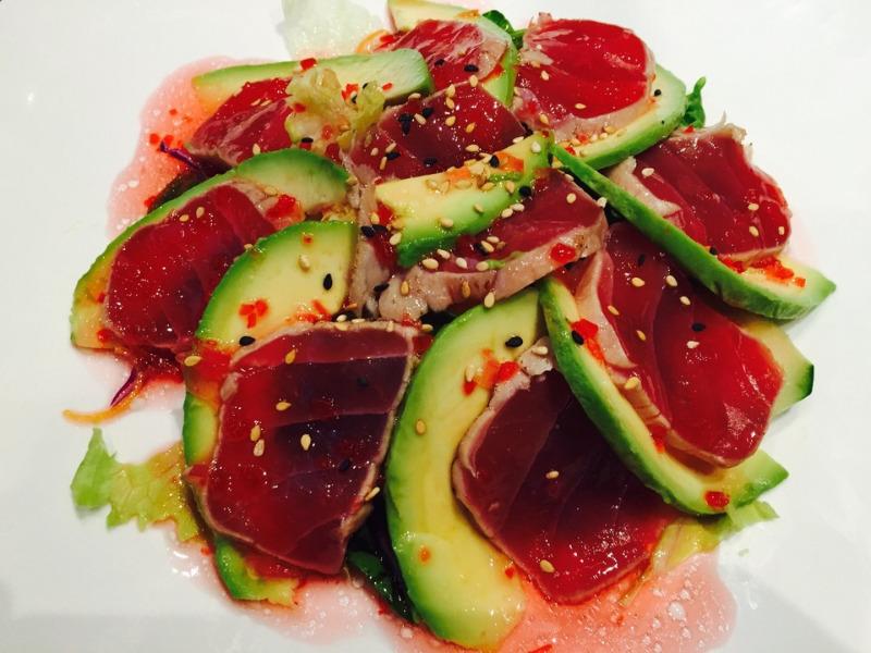 8. Tuna Avocado Salad