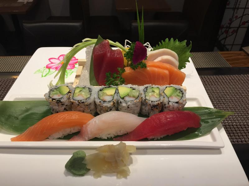 L3.  Sushi & Sashimi Lunch