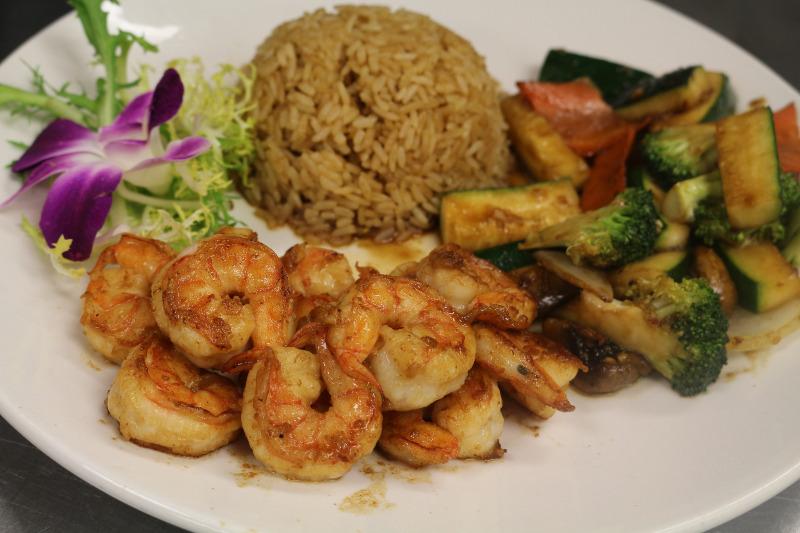 4. Hibachi Shrimp