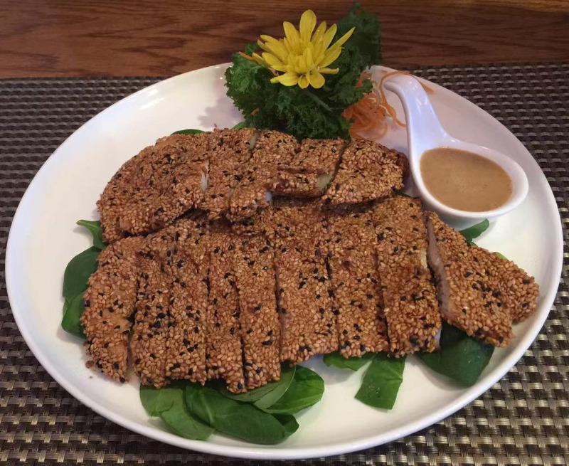 4. Honey Sesame Chicken (Japanese Style)