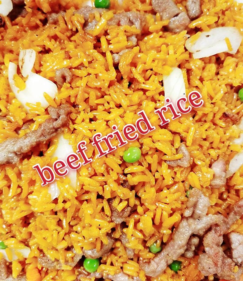 牛炒饭 28. Beef Fried Rice