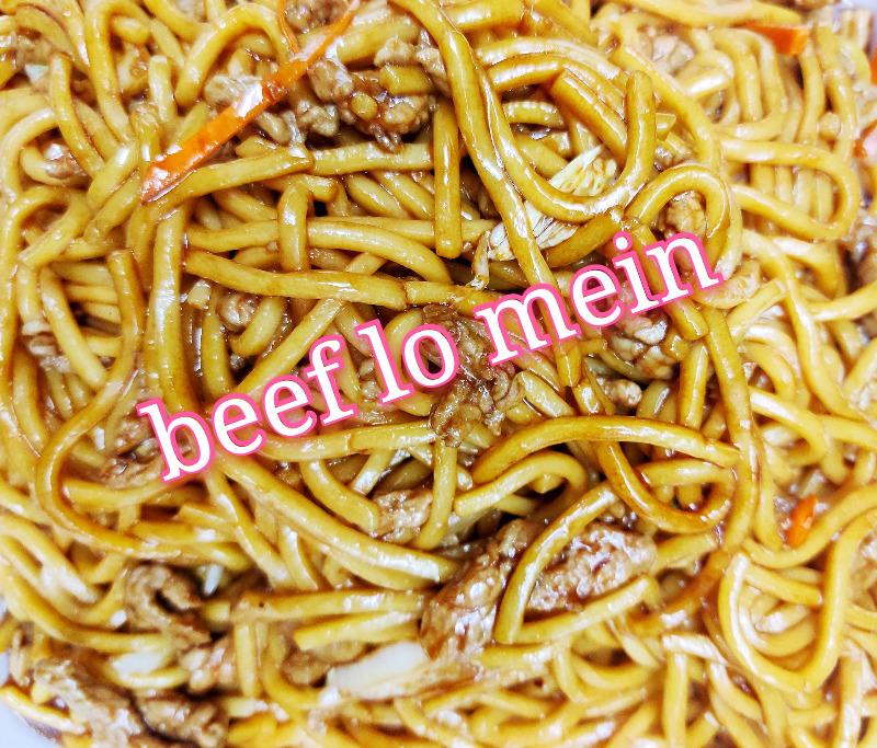 牛捞面 39. Beef Lo Mein