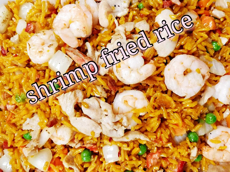 虾炒饭 29. Shrimp Fried Rice Image