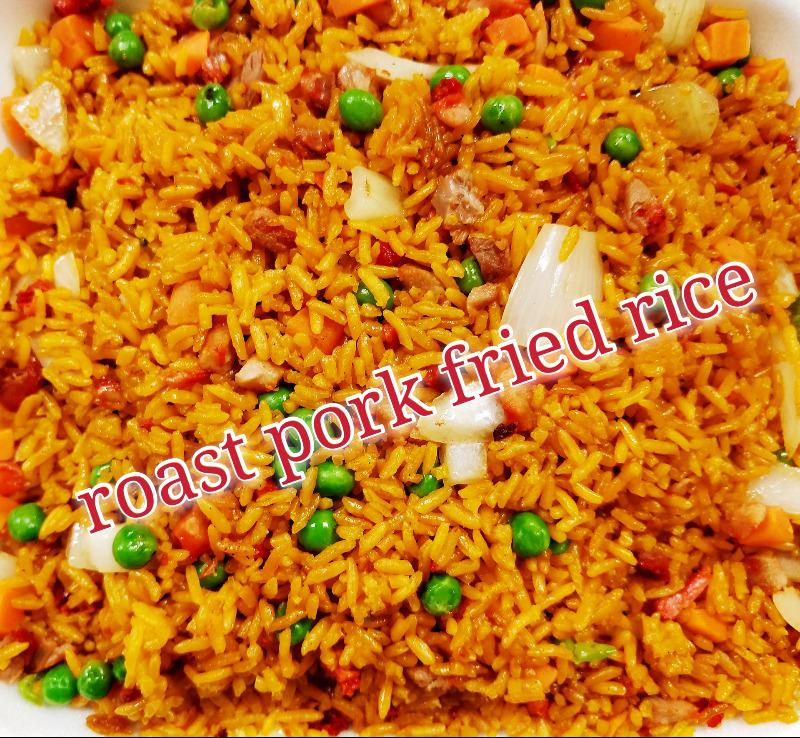 叉烧炒饭 26. Roast Pork Fried Rice