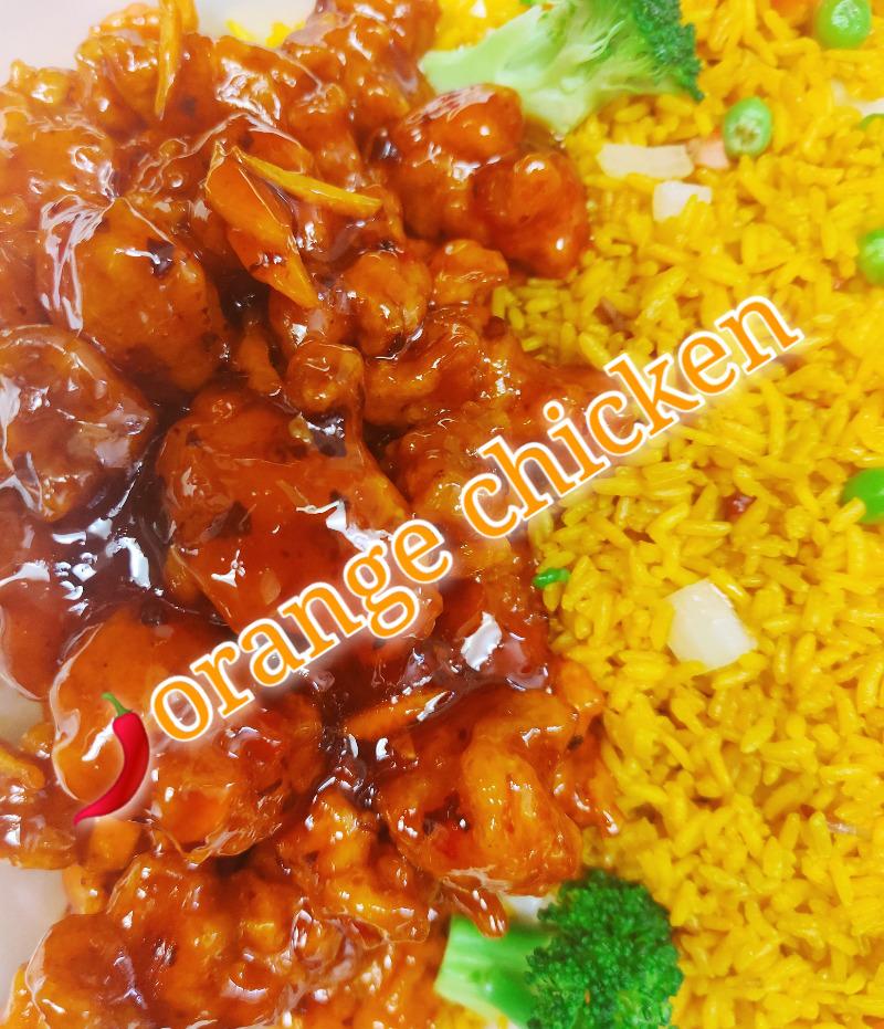 香橙鸡 9. Chicken w. Orange Flavor