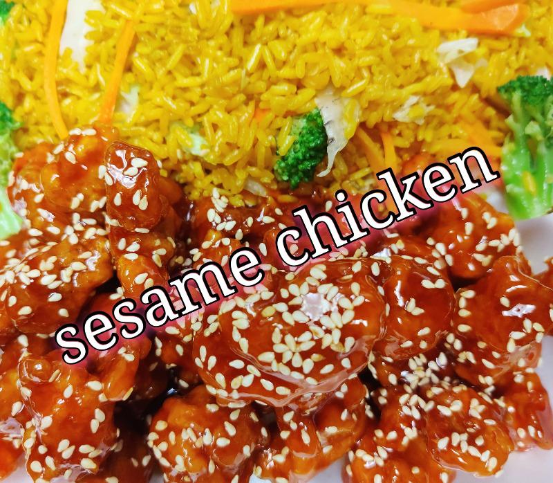 芝麻鸡 22. Sesame Chicken