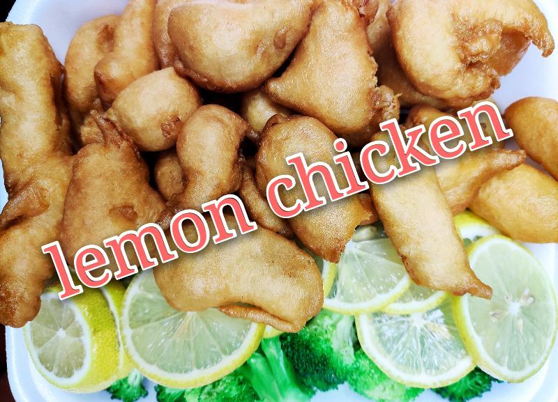 柠檬鸡 84. Lemon Chicken